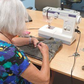 Werken met textiel